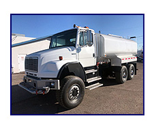 2002 Freightliner FL80 Heavy Spec 6x6 with New 4,000 Gallon Water Tank