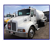 2003 Kenworth T300 with 2,800 Gallon LP Tank