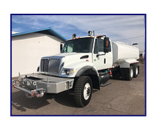 22007 International Model 7400 6x6 All Wheel Drive/ Extended Cab with New Maverick 4,000 Gallon Water System