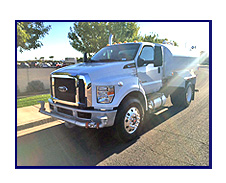 2018 Ford F750 with New Maverick 2000 Gallon Water System