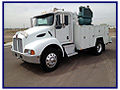 2003 Kenworth T-300 Service Truck with Seyller 11ft Service Body